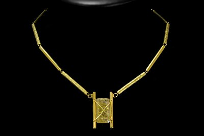 Yellow Rutile Necklace